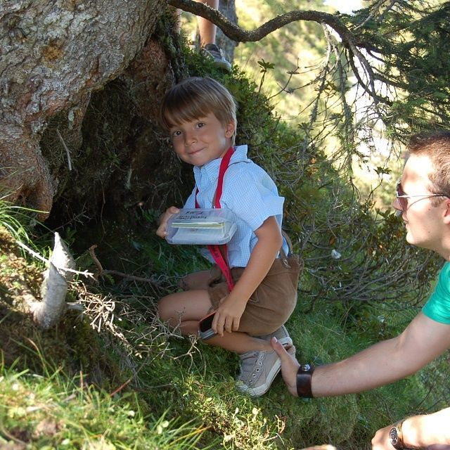 Geocaching in Kitzbühel