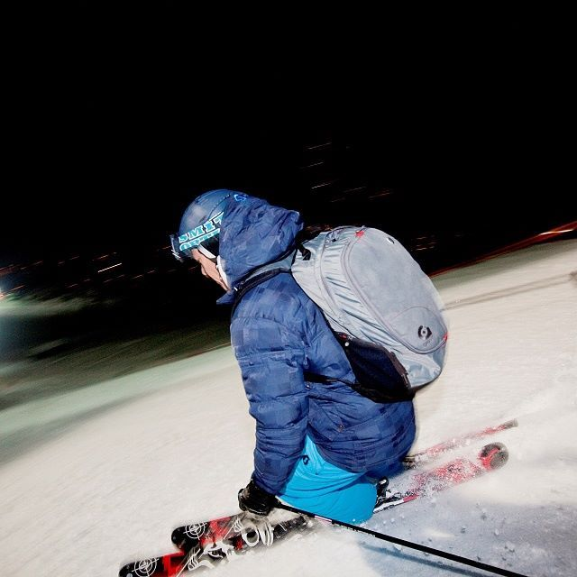 Skiing fun for night owls