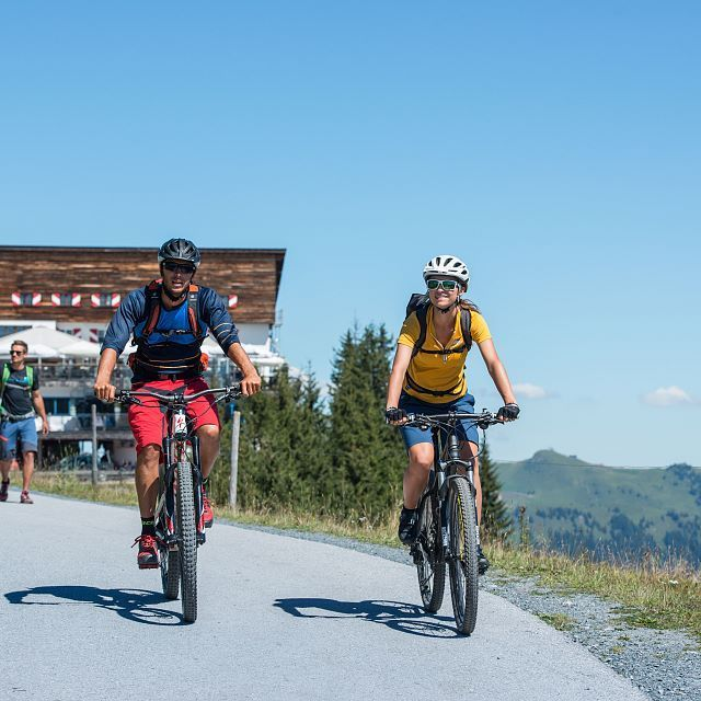 Cycling tour on the Hahnenkamm
