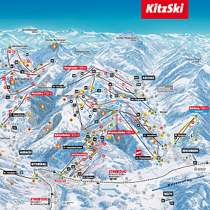 KitzSki Winter Panorama 2019/20